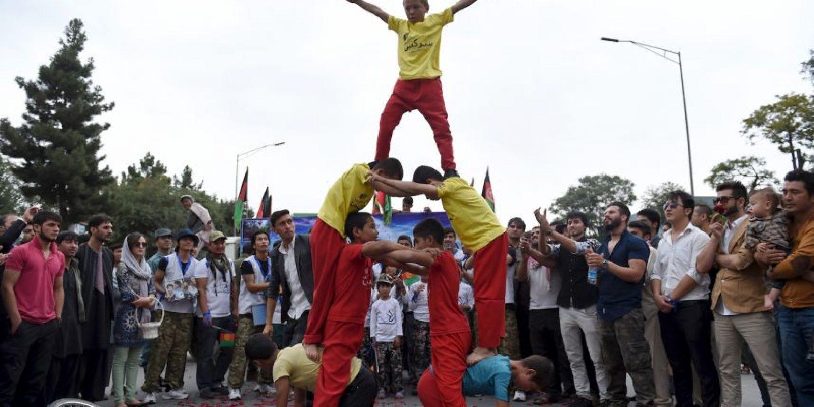 Hubo diversas actividades de entretenimiento. Foto:AFP