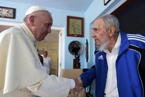 También se reunió con el expresidente de ls isla, Fidel Castro. Foto:AFP