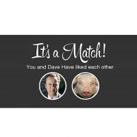 Otros han utilizado la plataforma de Tinder (app para citas) para reírse del caso Foto:Instagram.com