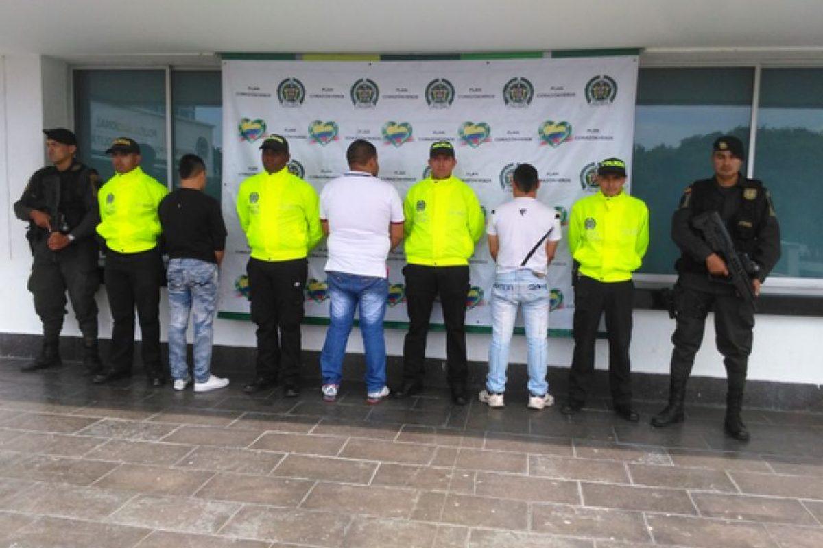 Los capturados son sindicados de 10 homicidios. Foto:Policía