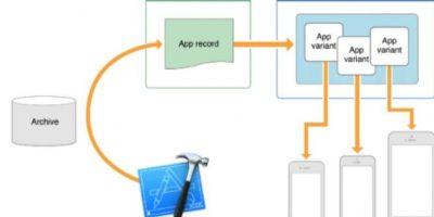 App Thinning es una función que descargará las aplicaciones dependiendo del modelo de iPhone o iPad que tengan. Así, adecuará la descarga con solo los bits que necesiten en su aparato. Foto:Apple