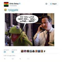 Hay otros que relacionan a Cameron con la separación de la Rana René y Peggy Foto:Twitter.com