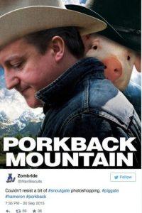 Y el uso de photoshop también ha desatado la imaginación de quienes se burlan Foto:Twitter.com