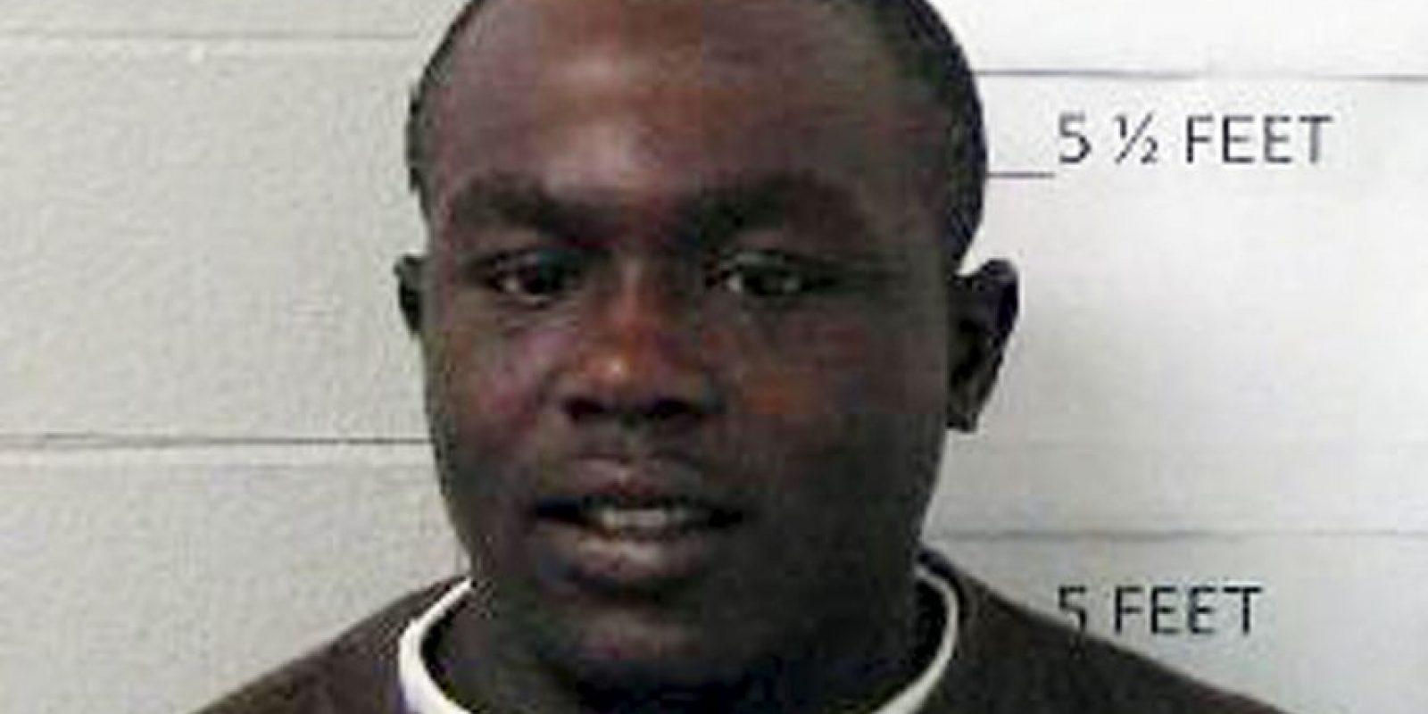 James Minter se encuentra detenido sin derecho a libertad bajo fianza. Foto:AP