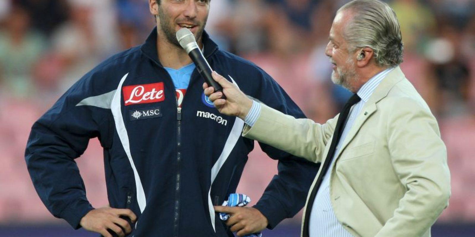 Aurelio de Laurentiis es el presidente del Nápoles de la Serie A. Foto:Getty Images