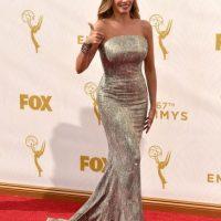 Su vestido era de corte sirena. Optó por soltarse el cabello. Foto:Getty Images