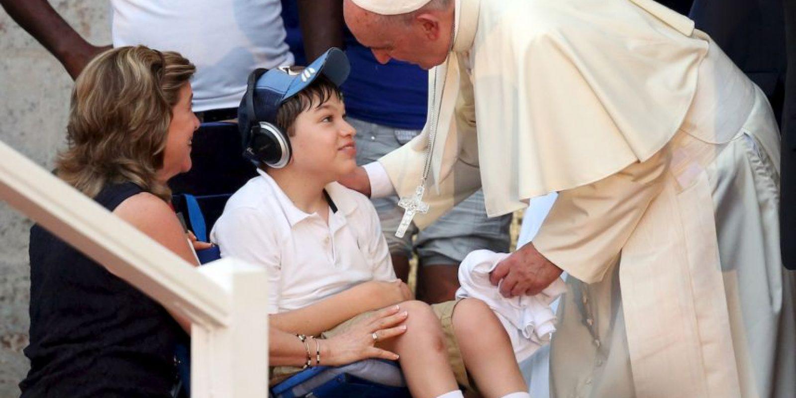 En esa misa realizó impactantes declaraciones sobre no servir a ideologías. Foto:Getty Images