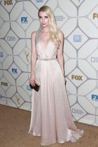 Emma Roberts en los premios Foto:Getty Images