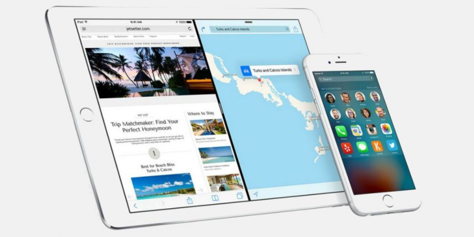 iOS 9 ya está disponible para su descarga. Foto: Apple