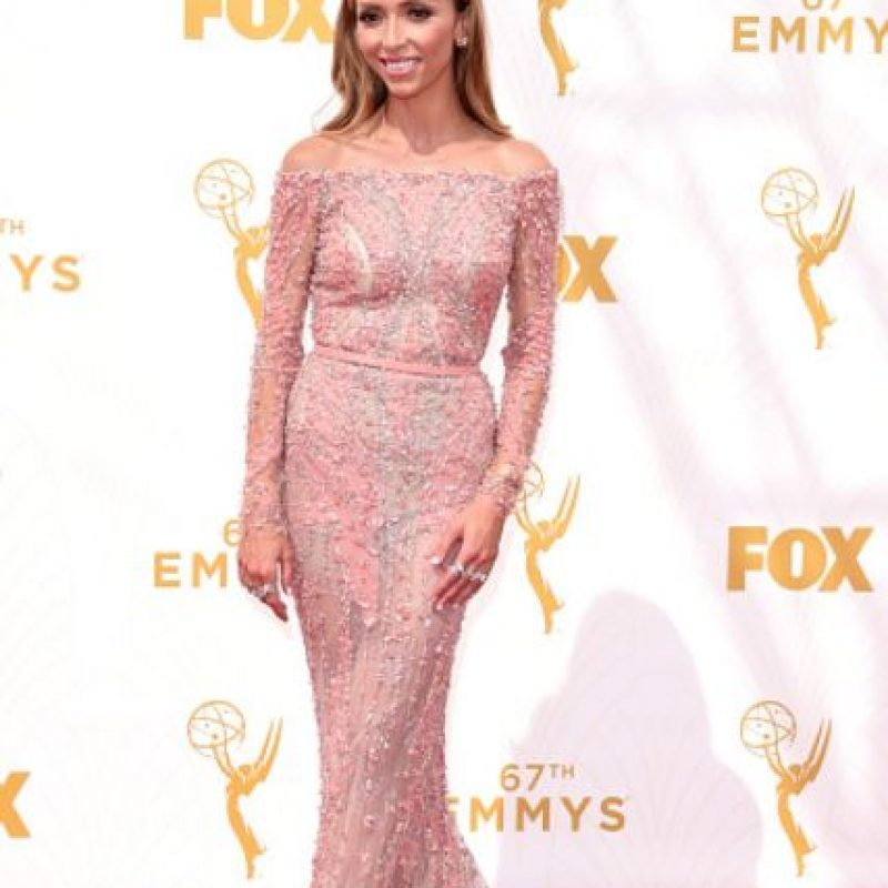 Giuliana Rancic, la gran sorpresa. Foto: vía Getty Images