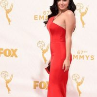 "Ariel Winter, yendo como ""Jessica Rabbit en el prom"". Foto: vía Getty Images"
