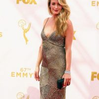 Bien por Cat Deeley. Así se usa el glamour del viejo Hollywood. Foto: vía Getty Images