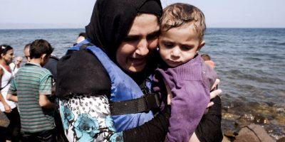 De acuerdo a BBC, el número de menores que han llegado solos también se ha incrementado Foto:AFP