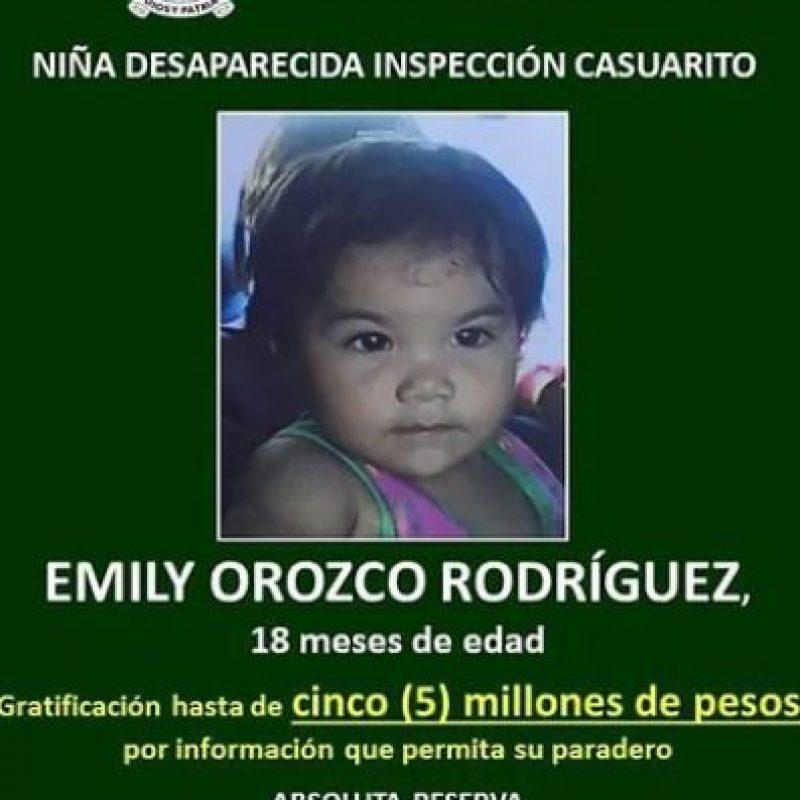 La fotografía de Emily Orozco Rodríguez es publicada por petición de las autoridades. Foto:Policía