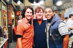 Sean Flynn, Dan Schneider y Chris Massey Foto:vía twitter.com/danwarp