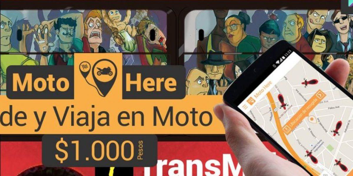 Denuncian que ahora también hay Uber en Moto
