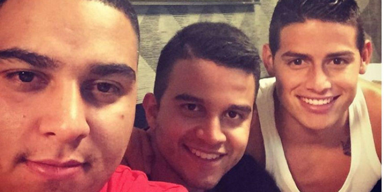 Foto:Tomado de la cuenta de Instagram @jamesrodriguez10