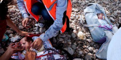 Su hermano gemelo fue puesto en una maleta Foto:AFP