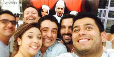 Santiago sigue vinculado para televisión haciendo proyectos para teatro y televisión. Foto:Canal RCN