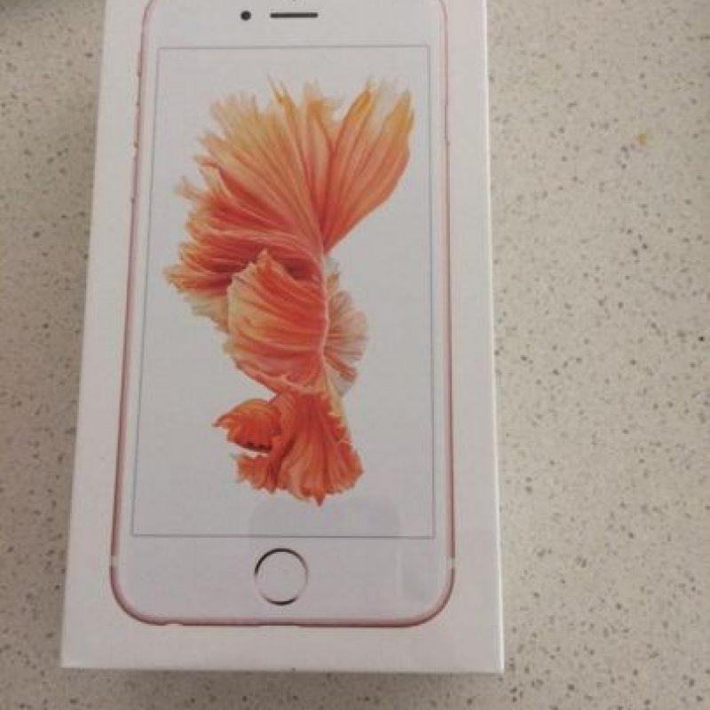 Recibió el smartphone antes de que saliera a la venta de manera oficial. Foto:vía twitter.com/MoonshineDesign