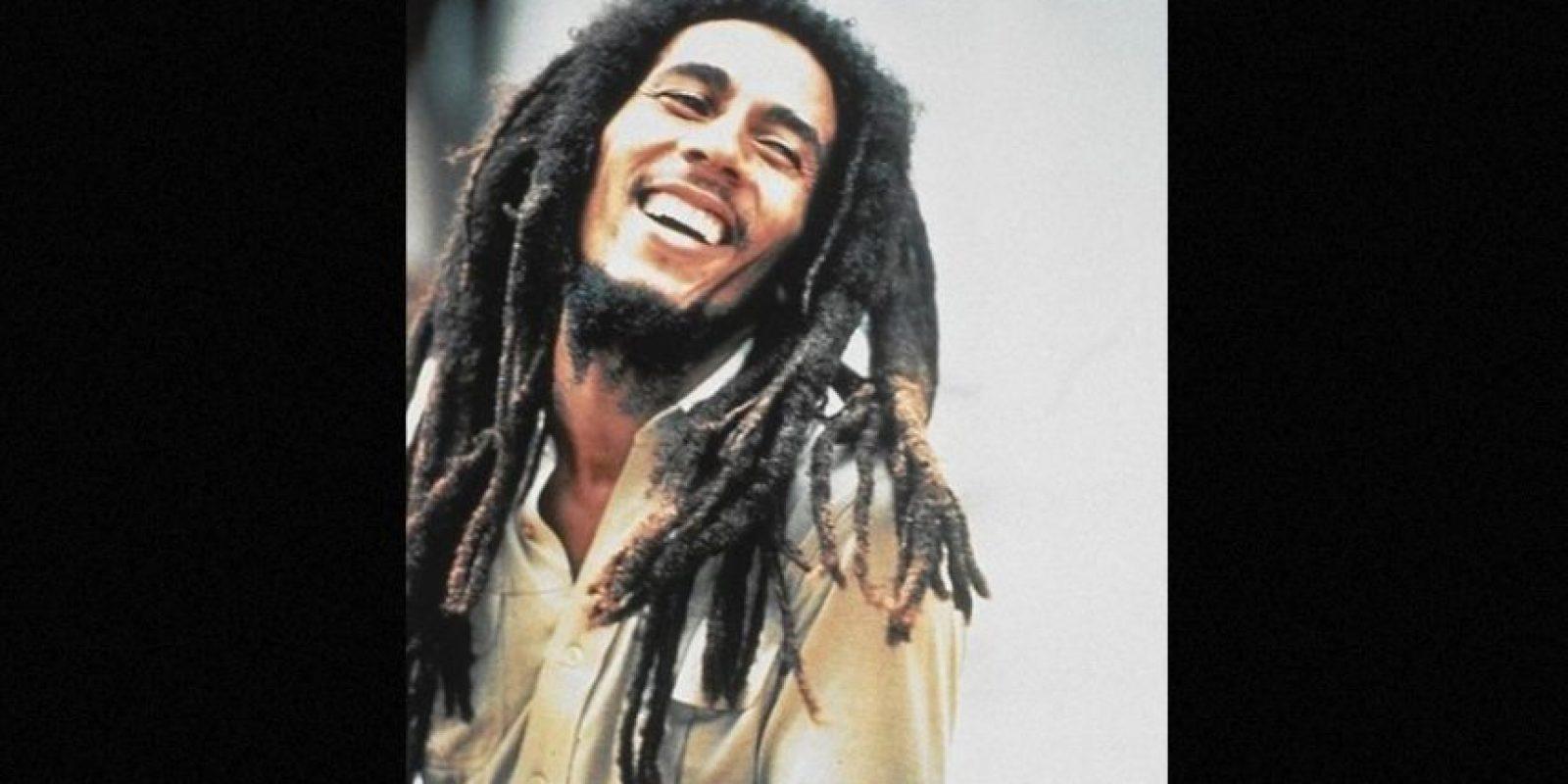 """Algunas personas ven a Bob Marley como el """"padre fundador"""" de fumar marihuana. Foto:Tumbrl"""