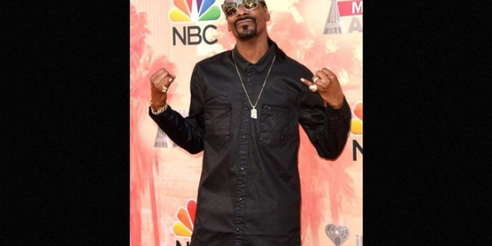 Snoop Dogg no esconde su gusto por la hierba y lo ha hecho público Foto:Getty Images