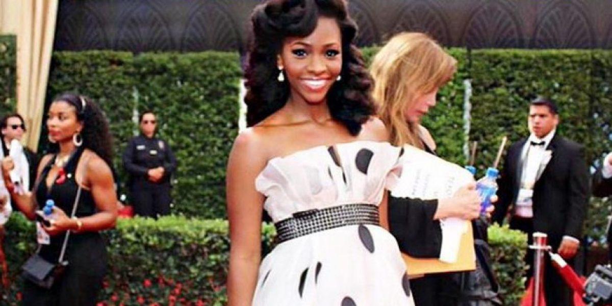 Teyonah Parris, la actriz que lució un diseño de Francesca Miranda en los Emmys