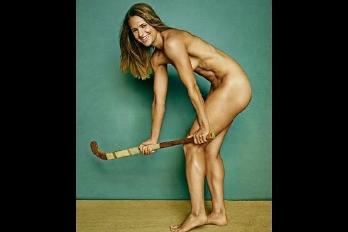 Jugadora estadounidense de hockey sobre césped Foto:ESPN