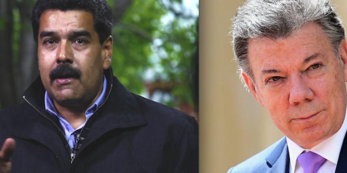 Nicolás Maduro y Juan Manuel Santos logran principio de acuerdo fronterizo