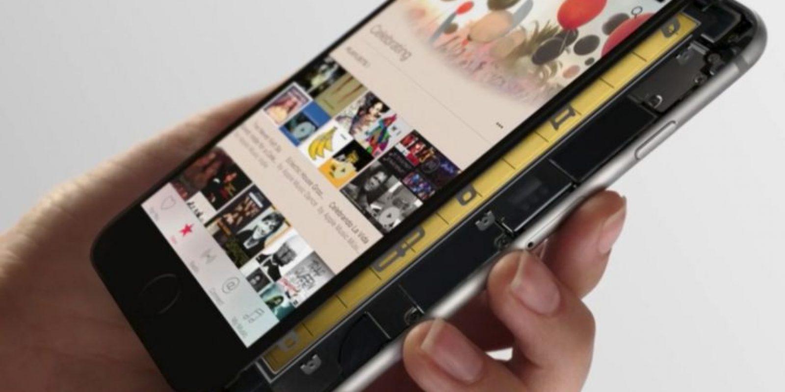 El nuevo iPhone al descubierto Foto:Apple