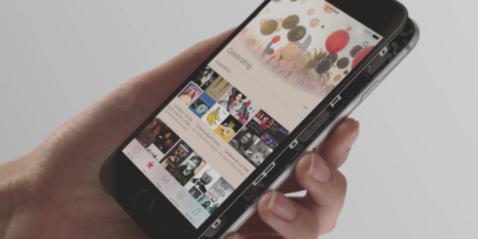 Los sensores hacen posible que funcione 3D Touch Foto:Apple
