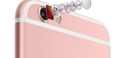 Los lentes de la cámara posterior de 12 megapíxeles Foto:Apple