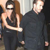 Finalmente, los Beckham abandonaron el lugar. Foto:The Grosby Group