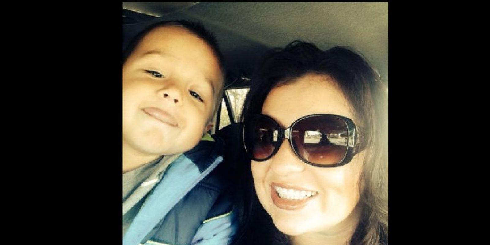 Zayde tiene sólo 4 años de edad. Foto:Vía facebook.com/alisha.sands.3