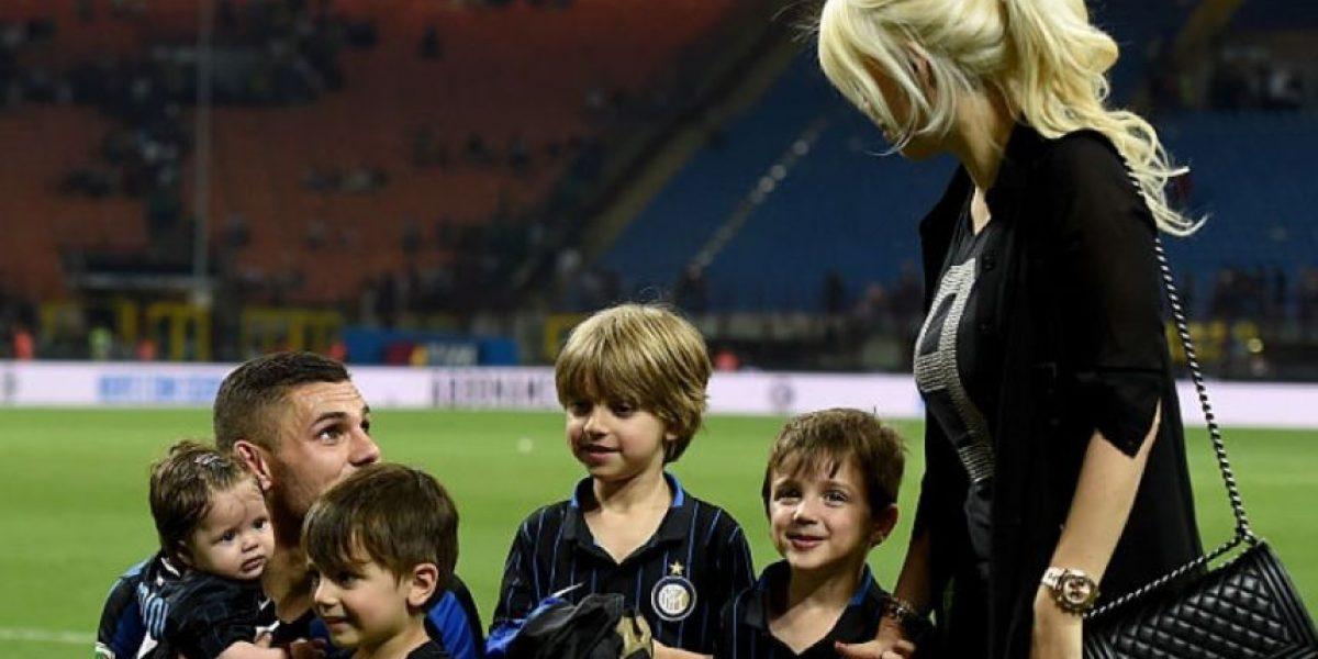 Fotos: Nueva polémica con Icardi y Wanda, por los hijos de 'Maxi' López