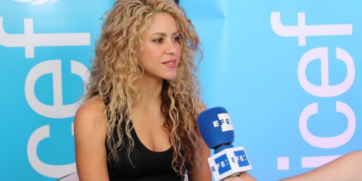 Shakira hace un llamado por la educación de la primera infancia