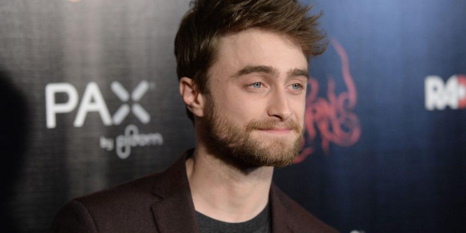 Con una abundante barba y el cabello en puntas. Foto:Getty Images