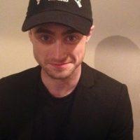 ¿Tal vez con gorra? Foto:vía plus.google.com/+DanielRadcliffe