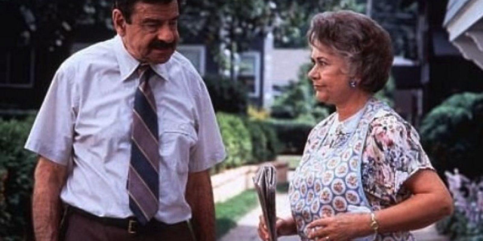 """La actriz británica le dio vida a la dulce esposa del """"Sr. Wilson"""", la señora """"Martha Wilson"""". Foto:IMDB"""