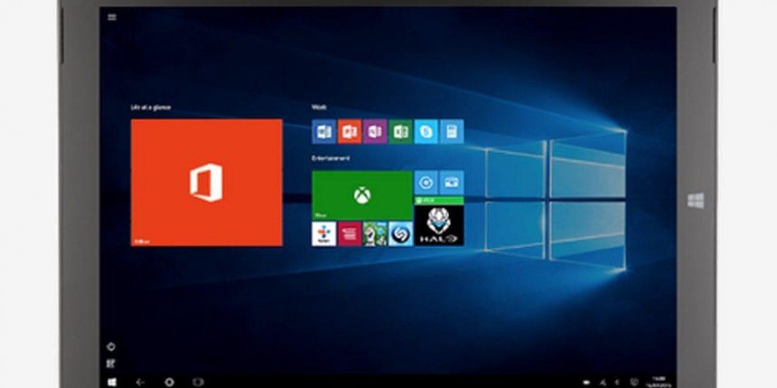 Está optimizado para Windows 10. Foto:Microsoft