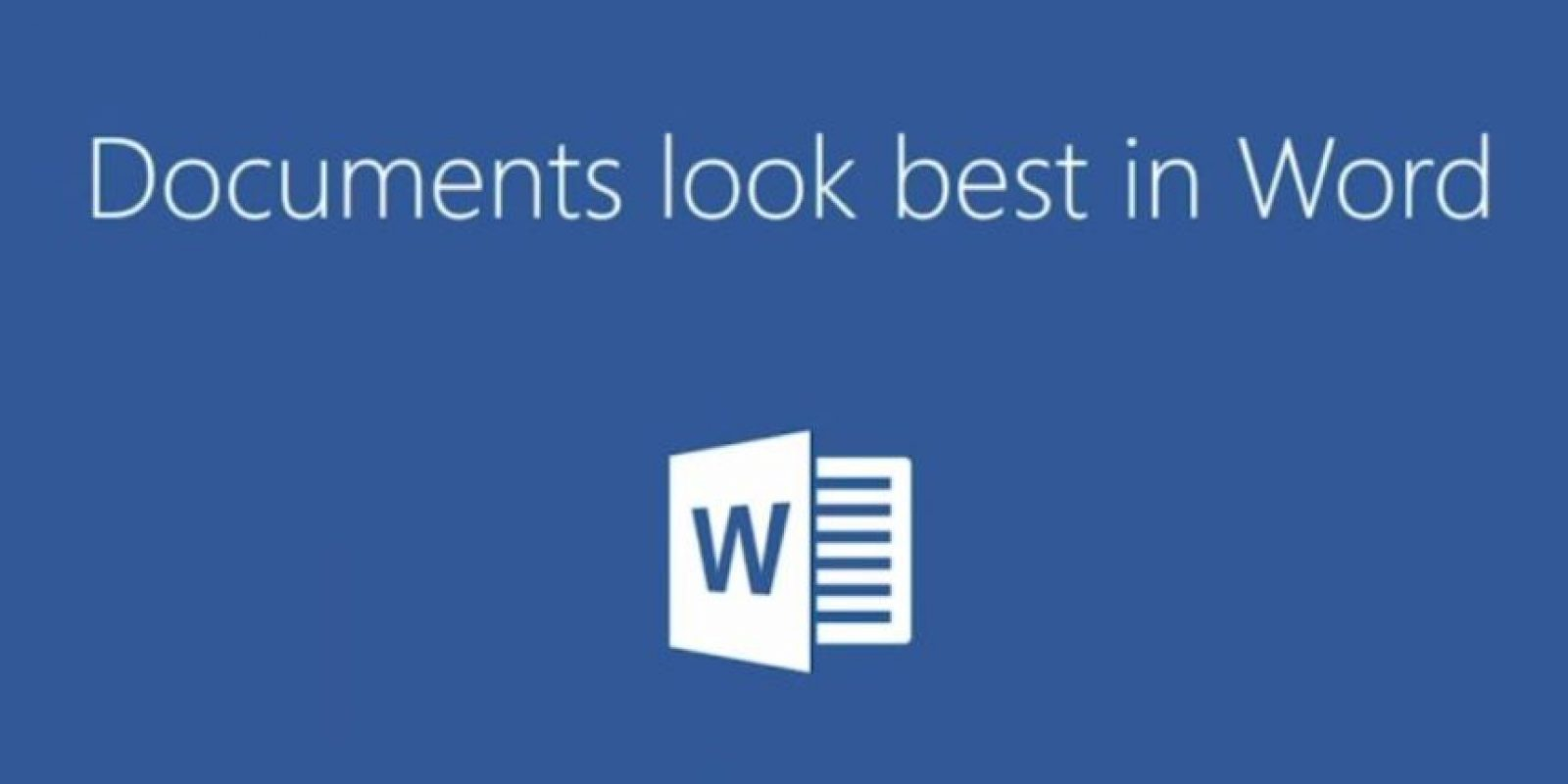 Word para escribir documentos. Foto:Microsoft