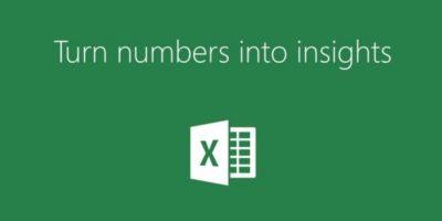 Excel les permite crear gráficos y bases de datos. Foto:Microsoft