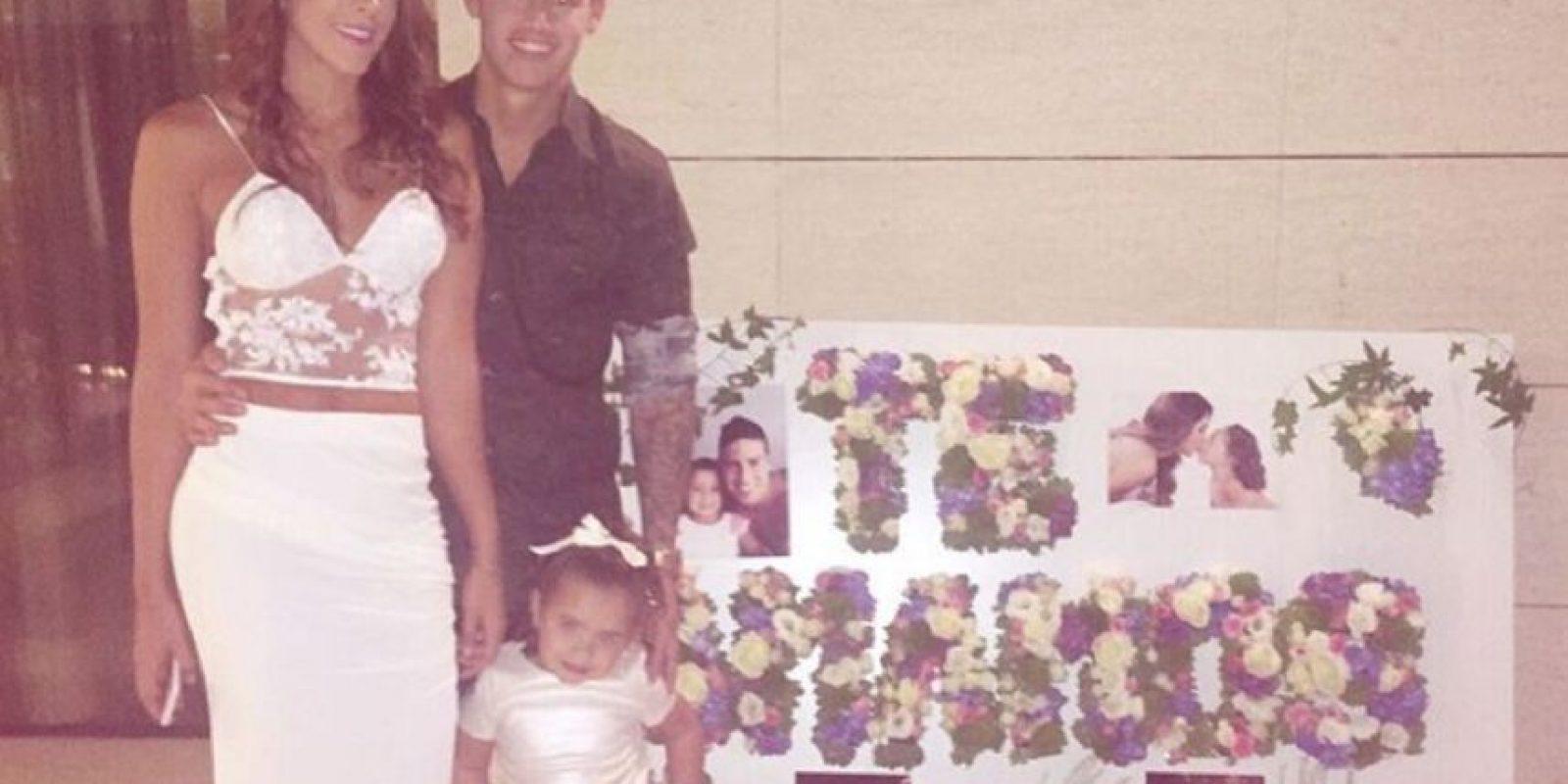 Con esta imagen Daniela demostró que su matrimonio está en su mejor momento. Foto:Instagram