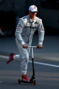 Se retiró definitivamente en 2012 luego de que el equipo alemán contratara a Lewis Hamilton para acompañar a Nico Rosberg. Foto:Getty Images