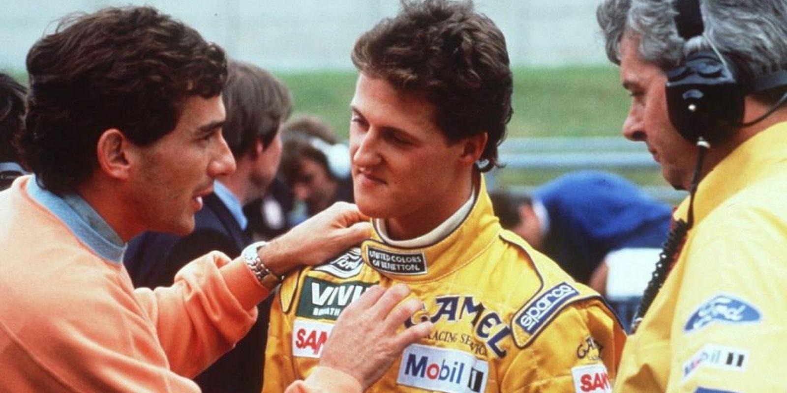 """""""Schumi"""", como se le conoce, debutó en el """"Gran Circo"""" en 1991, corriendo para la escudería Benetton. Foto:Getty Images"""