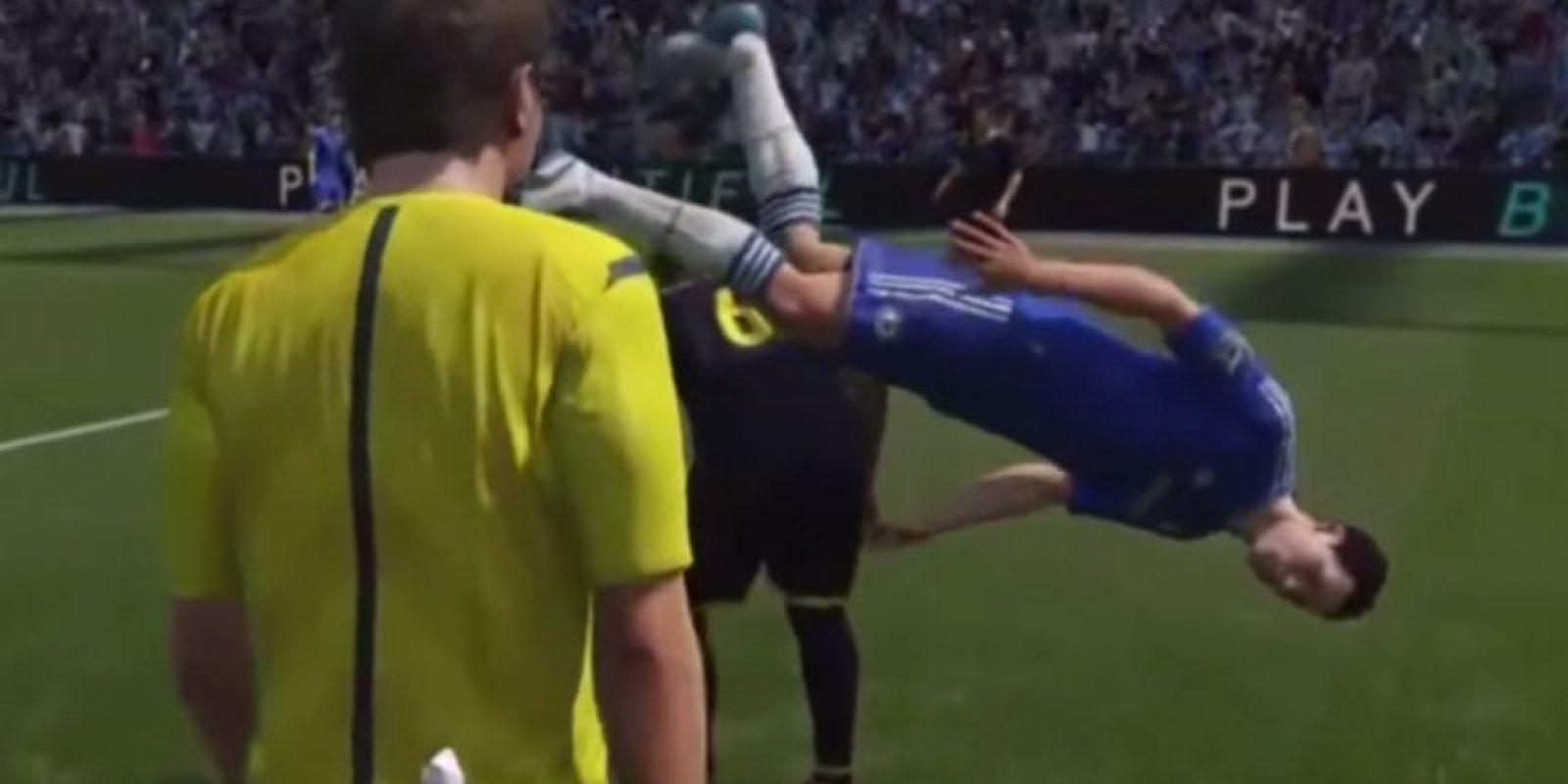 En el video habitan los porteros más tontos del mundo y alguno que otro futbolista que bien podría ser bailarín Foto:MemedeportesTV/YouTube