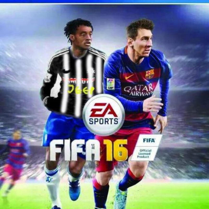 Sin embargo, semanas después el futbolista cambió de equipo, por lo que la portada tendría que ser modificada Foto:Twitter