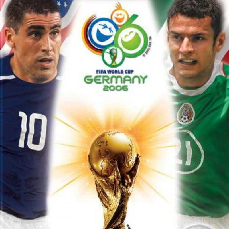 """En el año 2006, en la portada del videojuego portada """"FIFA World Cup 2006"""" para América del Norte aparecían el estadounidense Claudio Reyna y el mexicano Jaime Lozano. Sin embargo el jugador mexicano no fue a este evento Foto:Twitter"""