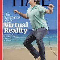 """Esta es la portada original de la revista """"Time"""" dedicada a la realidad virtual Foto:TIME"""