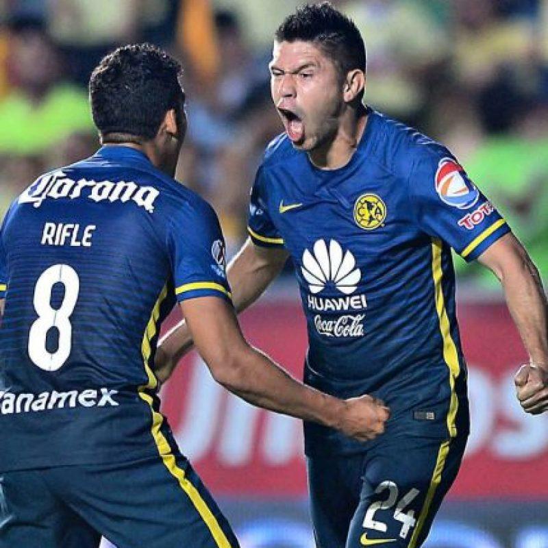 Oribe Peralta es su hombre más valioso, con una carta de 4.2 millones de euros Foto:Vía twitter.com/CF_America